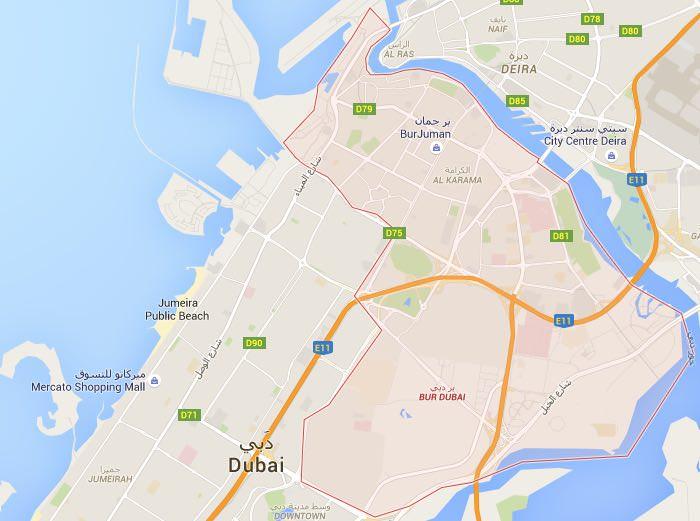 Dormire nella zona di Bur Dubai