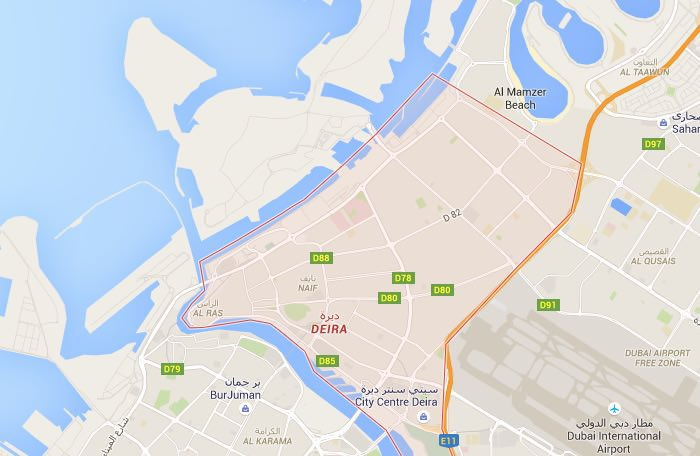 Dormire nella zona di Deira a Dubai