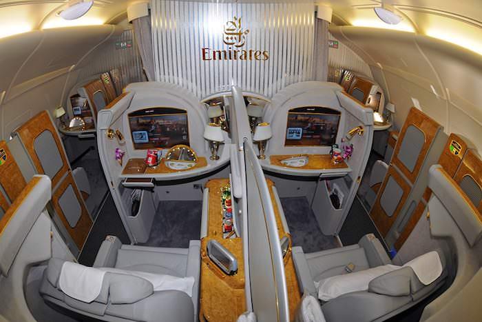 Prima classe A380 Emirates