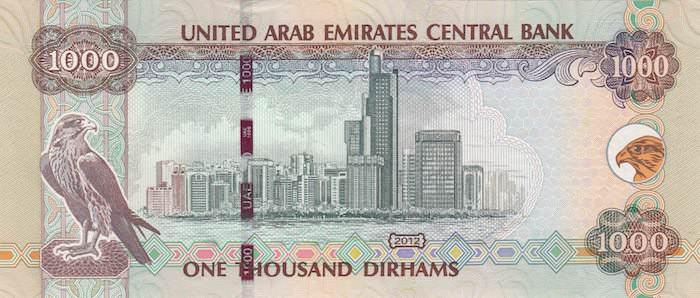 Dirham Emirati Arabi Uniti